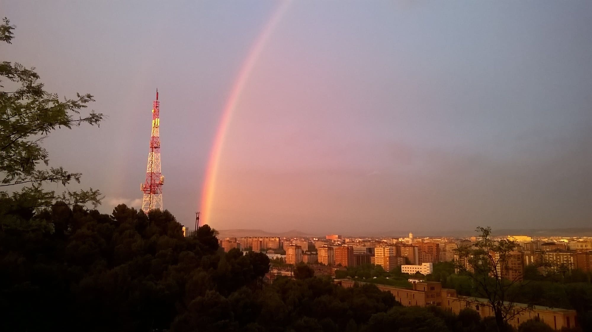 vistas : arco iris