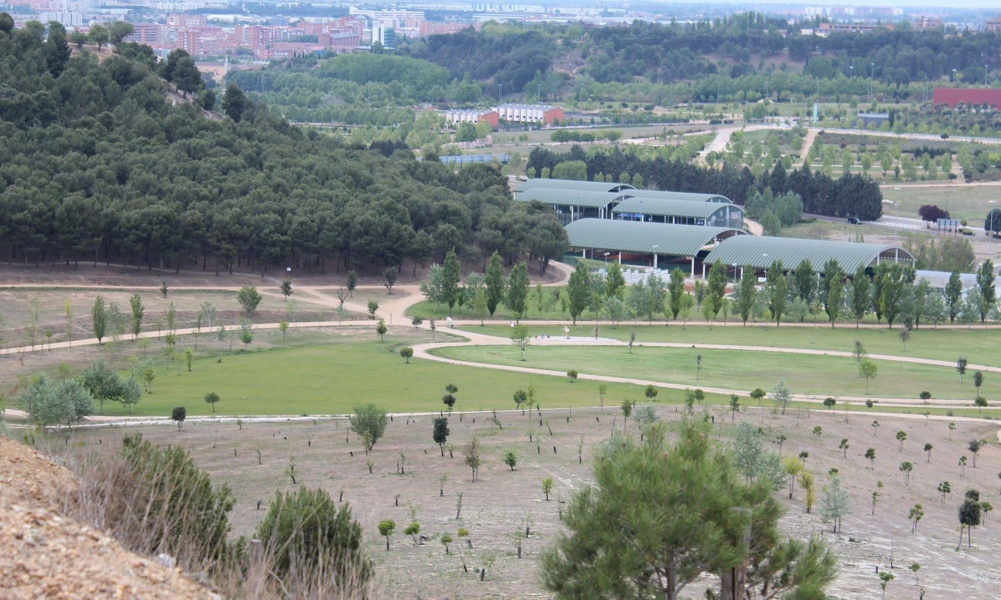 vistas desde el parque